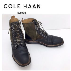 Cole Haan LunarGrand Forest Como Lace up Boot